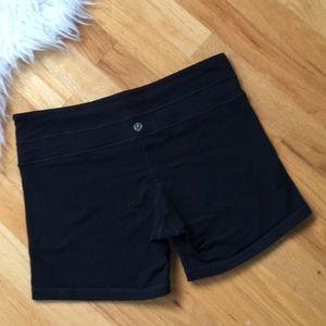 Lululemon Black Shorts Reversible